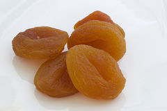 Dried Sweet Apricot for snack-bite Stock Images