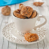 Dried sweet fig Stock Image