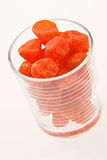 Dried tangerine Royalty Free Stock Images