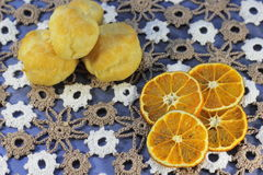 Dried tangerine Royalty Free Stock Photography