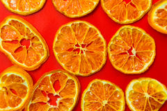 Dried tangerine Stock Image