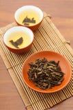 Dried tea leave Stock Image