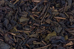 Dried tea leaves. Stock Photo