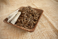 Dried tea leaves Royalty Free Stock Image