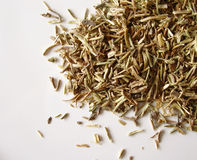 Dried thyme. On white background Stock Images