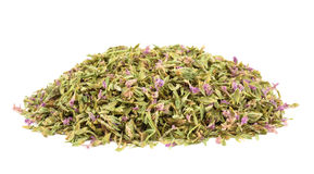Dried Thyme with flowers Stock Images