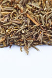 Dried thyme making approach Royalty Free Stock Photography