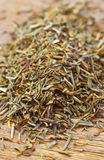 Dried thyme making approach Royalty Free Stock Image