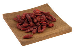 Dried Tibetan goji berries (wolfberry) Stock Image