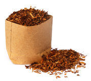 Dried tobacco Royalty Free Stock Photo