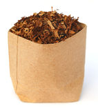 Dried tobacco leaves Royalty Free Stock Photos