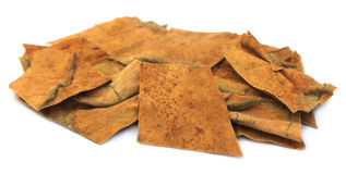 Dried tobacco leaves Stock Photo