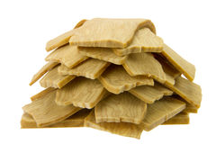 Dried tofu Stock Photo