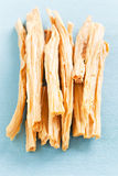 Dried tofu skin Stock Image
