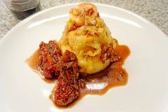 Dried tomato polenta Royalty Free Stock Photos