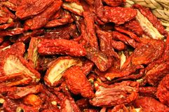 Dried tomato Royalty Free Stock Images