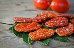 Dried tomatoes Royalty Free Stock Photos