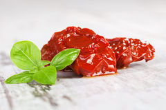 Dried tomatoes. Stock Image