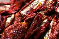 Dried tomatoes 4 Stock Image