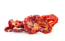 Dried tomatoes cut Royalty Free Stock Image