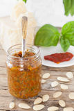 Dried Tomatoes Pesto Royalty Free Stock Photography