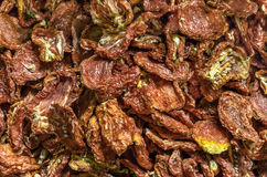 Dried Tomatoes. Sun Dried Tomatoes at Market in Istanbul Royalty Free Stock Images