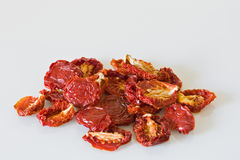 Dried tomatos Royalty Free Stock Photos