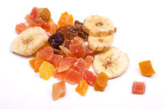 Dried tropical fruit Royalty Free Stock Images