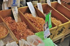 Dried tuna flakes or dashi on sale Stock Photography