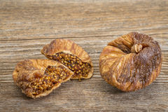 Dried Turkish figs Stock Photos