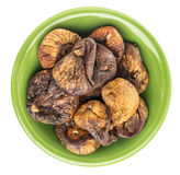 Dried Turkish figs Royalty Free Stock Images