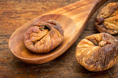 Dried Turkish figs Stock Image