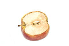 The dried up apple Stock Photos