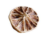 Dried-up lemon Stock Photo