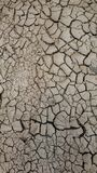 Dried up river bed stock image