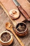 Dry root valerian stock image