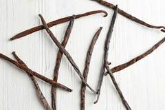 Free Dried Vanilla Sticks Royalty Free Stock Photography - 110753807