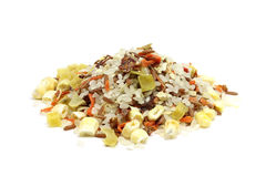 Dried vegetable mix Stock Photo