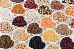 Dried Vegetable Pulses Stock Images