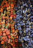 Dried Vegetables Stock Photography