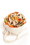 Dried vegetables slices Stock Image