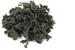 Dried Wakame Seaweed Royalty Free Stock Images