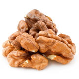 Dried walnuts Stock Images
