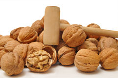 Dried walnuts Royalty Free Stock Photography