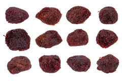 Dried waxberry Stock Photos