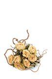 Dried wedding flowers Stock Images