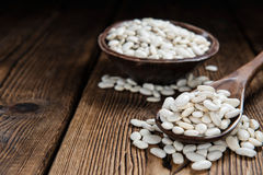Dried White Beans Stock Image