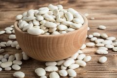 Dried white bean.