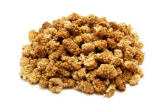 Dried white mulberries Royalty Free Stock Photos