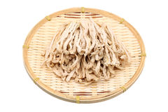 Dried white radish Stock Photography